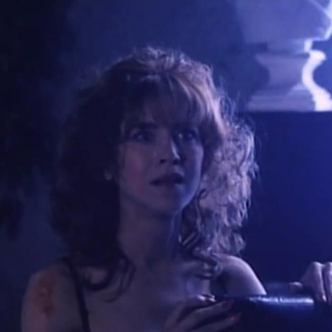 Deborah Dutch in Hard to Die (1990) as Debra Dare
