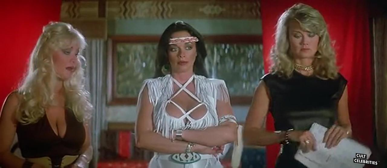 Angela Aames, Raven De La Croix and Melanie Vincz in The Lost Empire (1984)