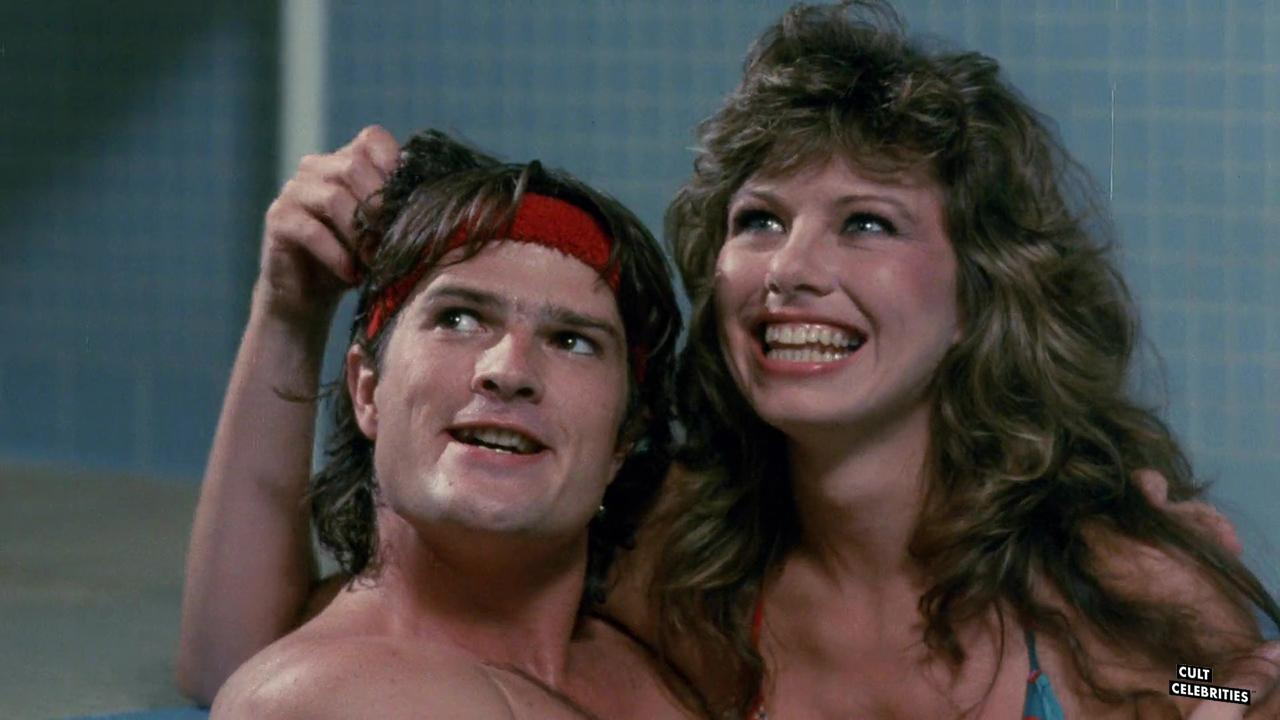 Robert Prichard and Jennifer Babtist in The Toxic Avenger (1984)
