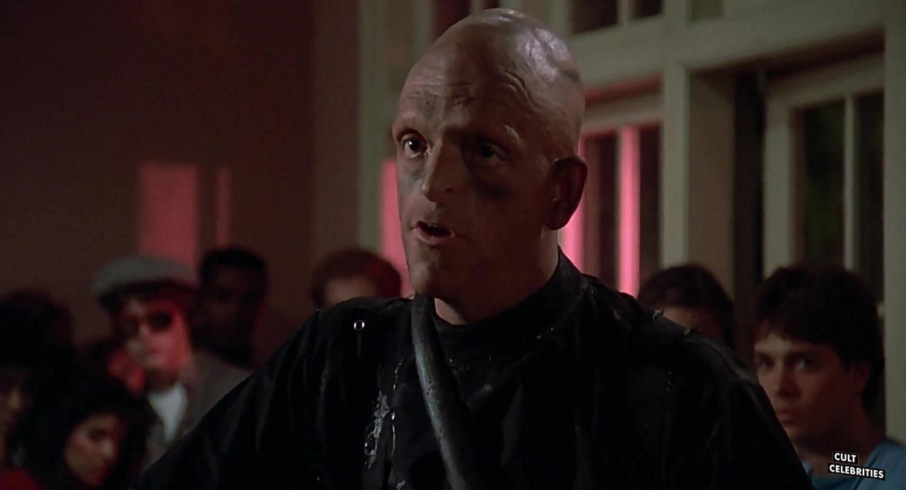 Michael Berryman in the 1985 John Hughes classic film Weird Science