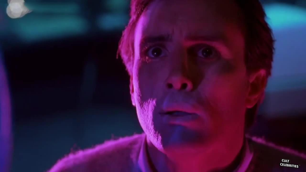 Jeffrey Combs in From Beyond (1986) as Crawford Tillinghast