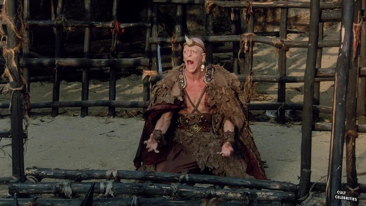 Michael Berryman in the The Barbarians (1987)
