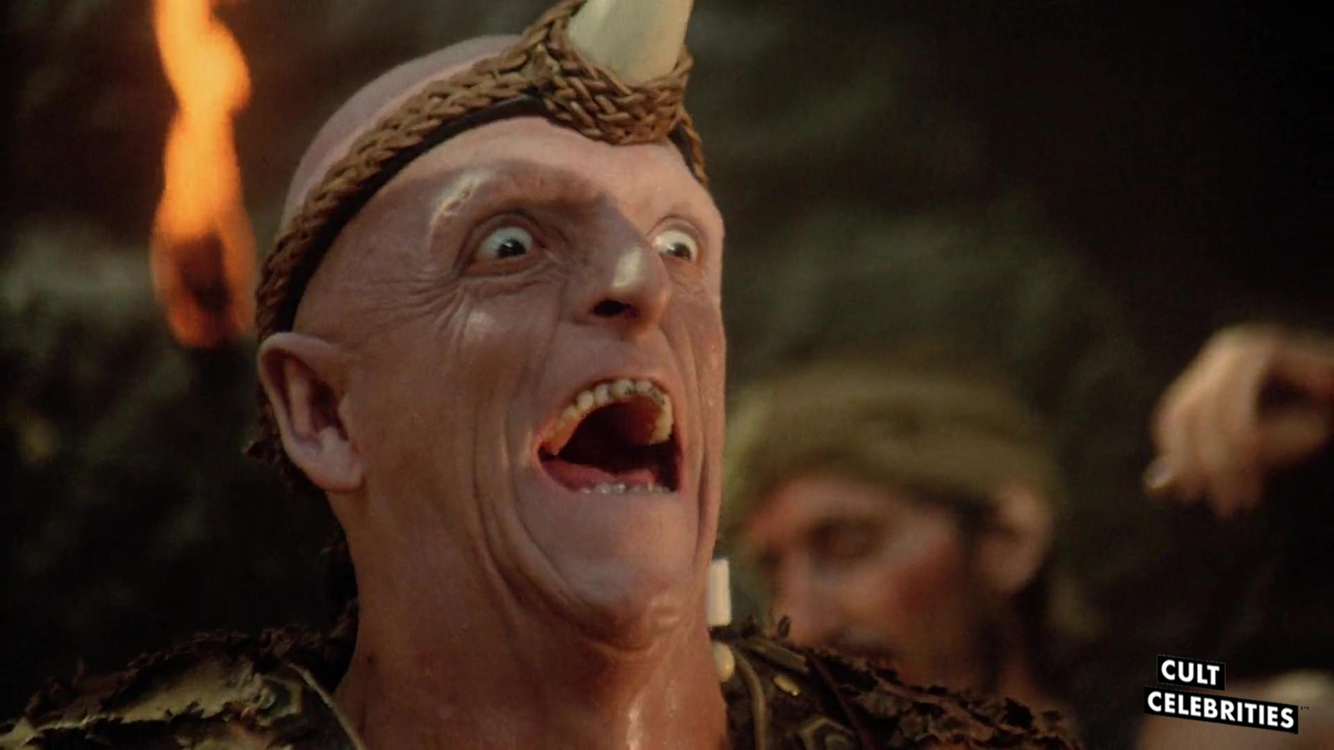 Michael Berryman in The Barbarian Brothers (1987)