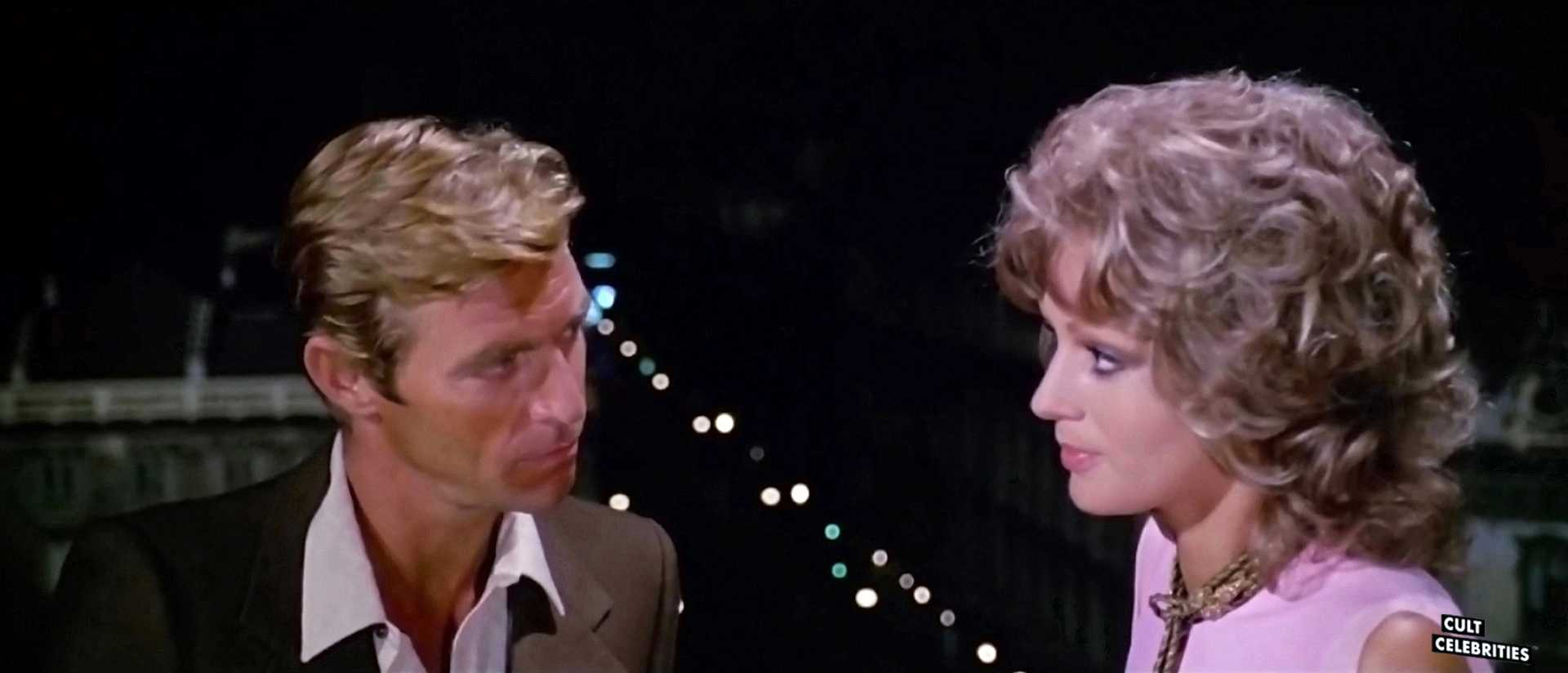 Catherine Spaak and James Franciscus in The Cat o' Nine Tails (1971)