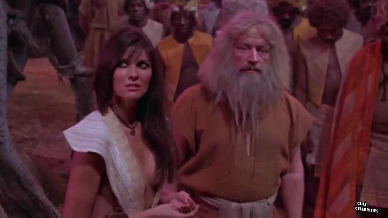 Caroline Munro in At the Earth's Core (1976)