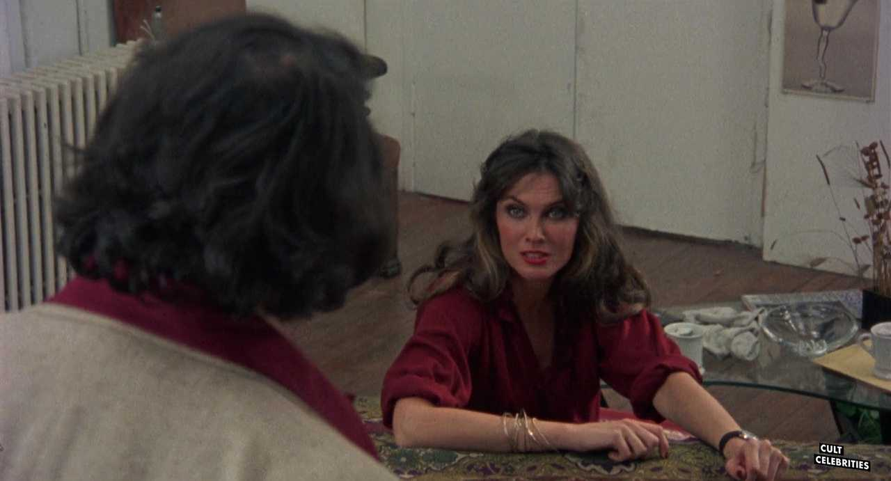 Caroline Munro and Joe Spinell in Maniac (1980)