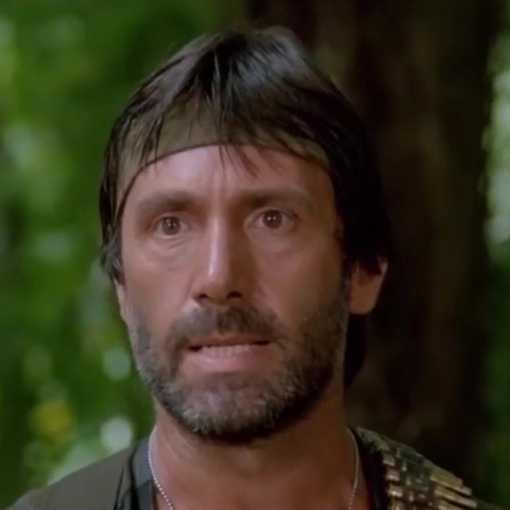 Massimo Vanni in Robowar - Robot da guerra (1988)