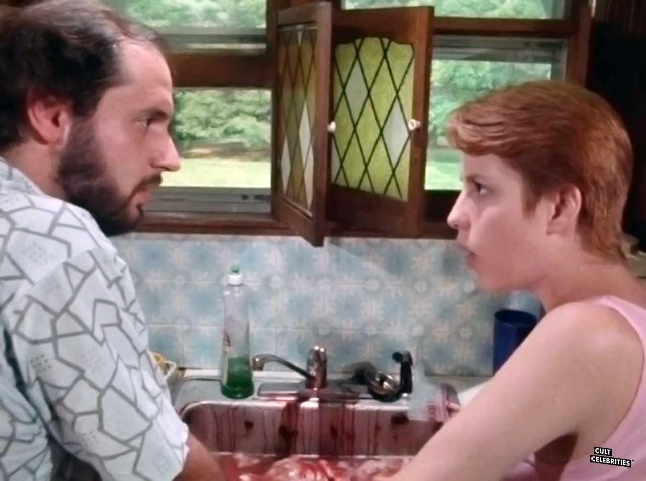 Carmine Capobianco and Debi Thibeault in Psychos in Love (1987)