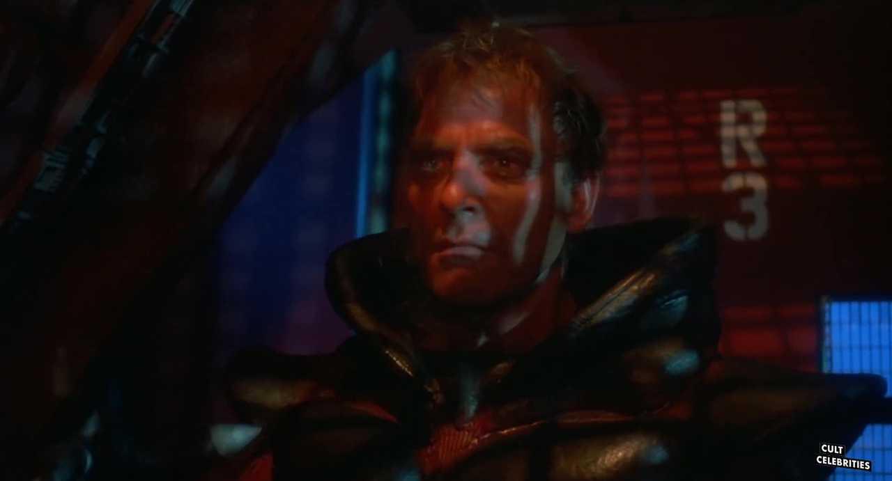 Ross Hagen as Bantor in Star Slammer (1986)