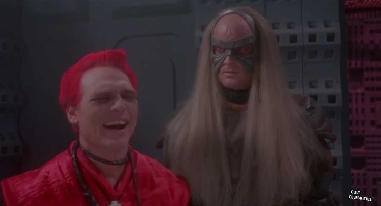 Michael Sonye as Krago in Star Slammer (1986)