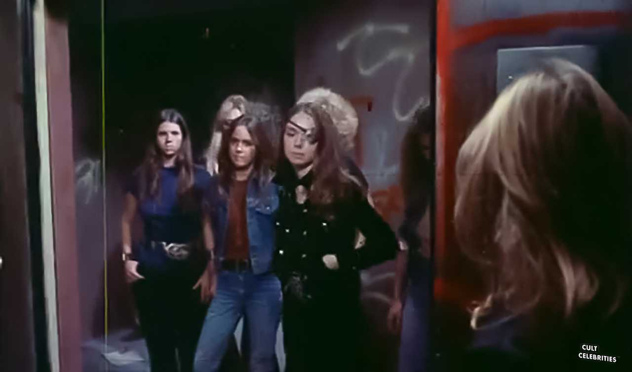 Kitty Bruce, Monica Gayle, Robbie Lee, and Joanne Nail in The Jezebels (1975)