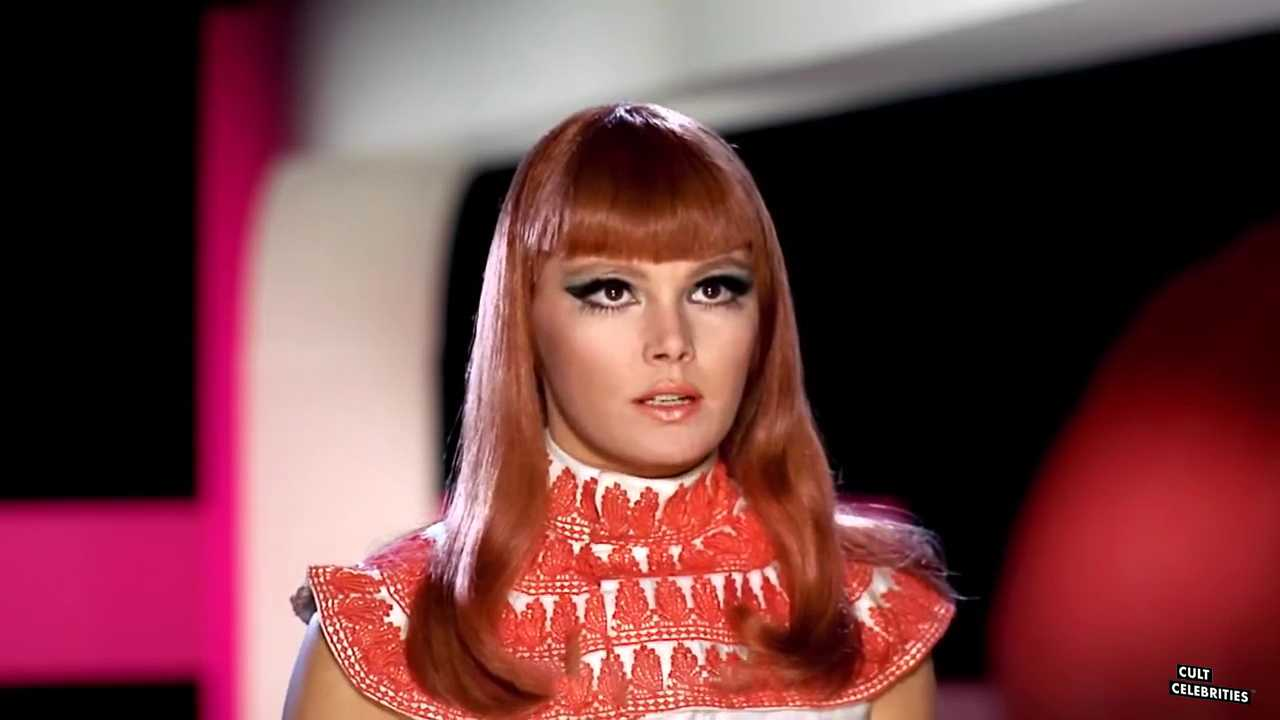 Brigitte Skay as Lachesis in Zeta One (1969)