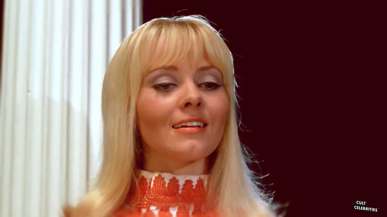 Yutte Stensgaard as Ann Olsen in Zeta One (1969)