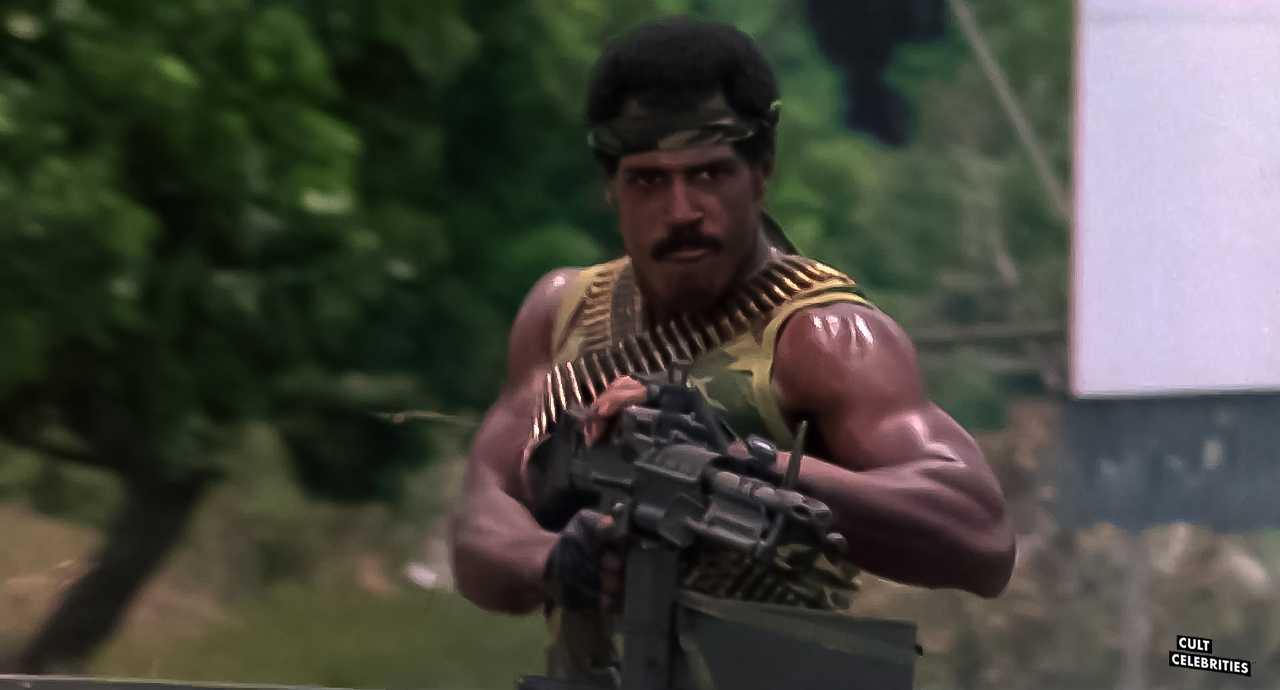 Steve James in American Ninja (1985)