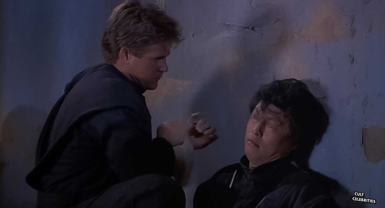 Michael Dudikoff in American Ninja 4: The Annihilation (1990)