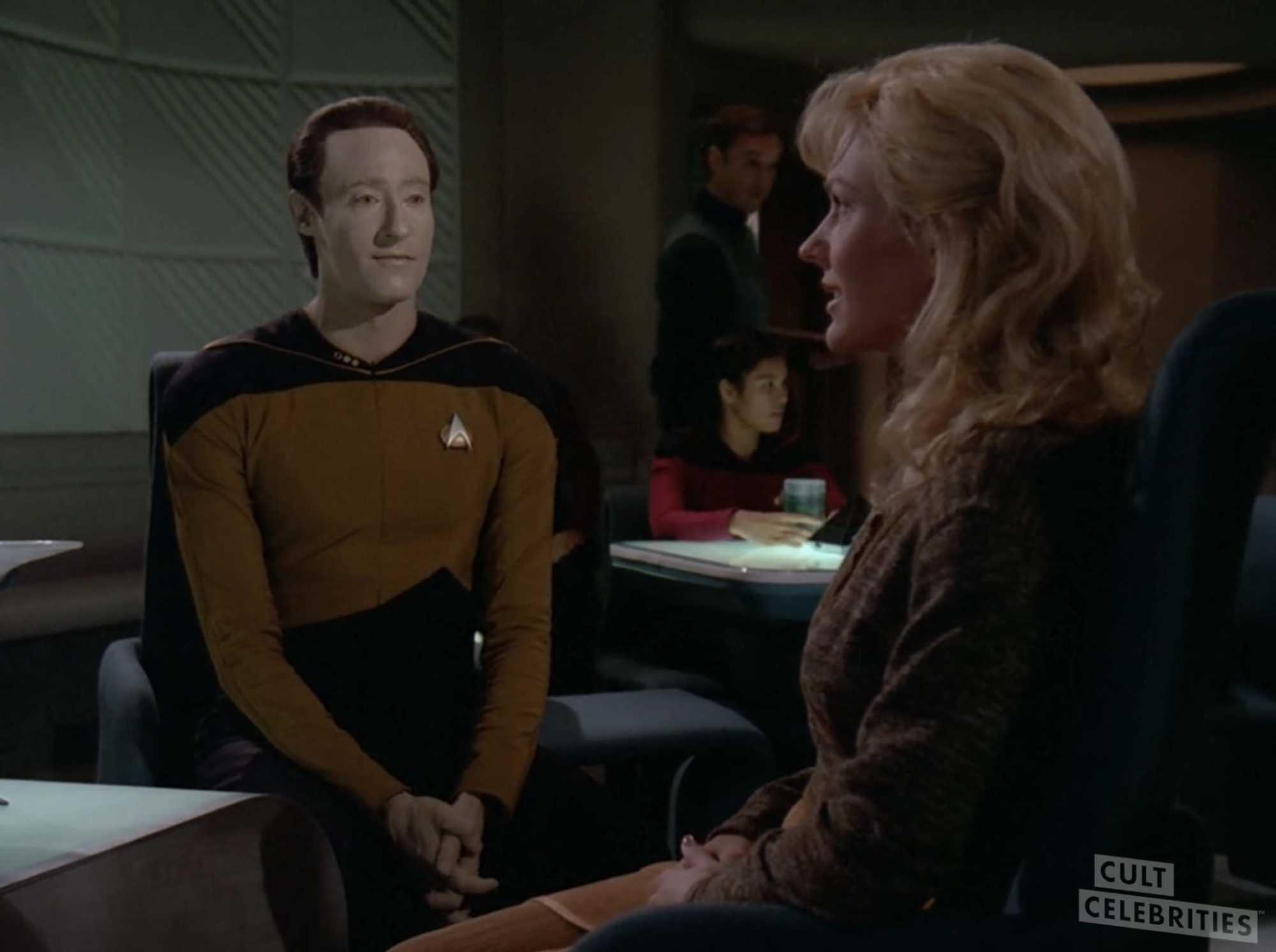 Barbara Alyn Woods in Star Trek: The Next Generation