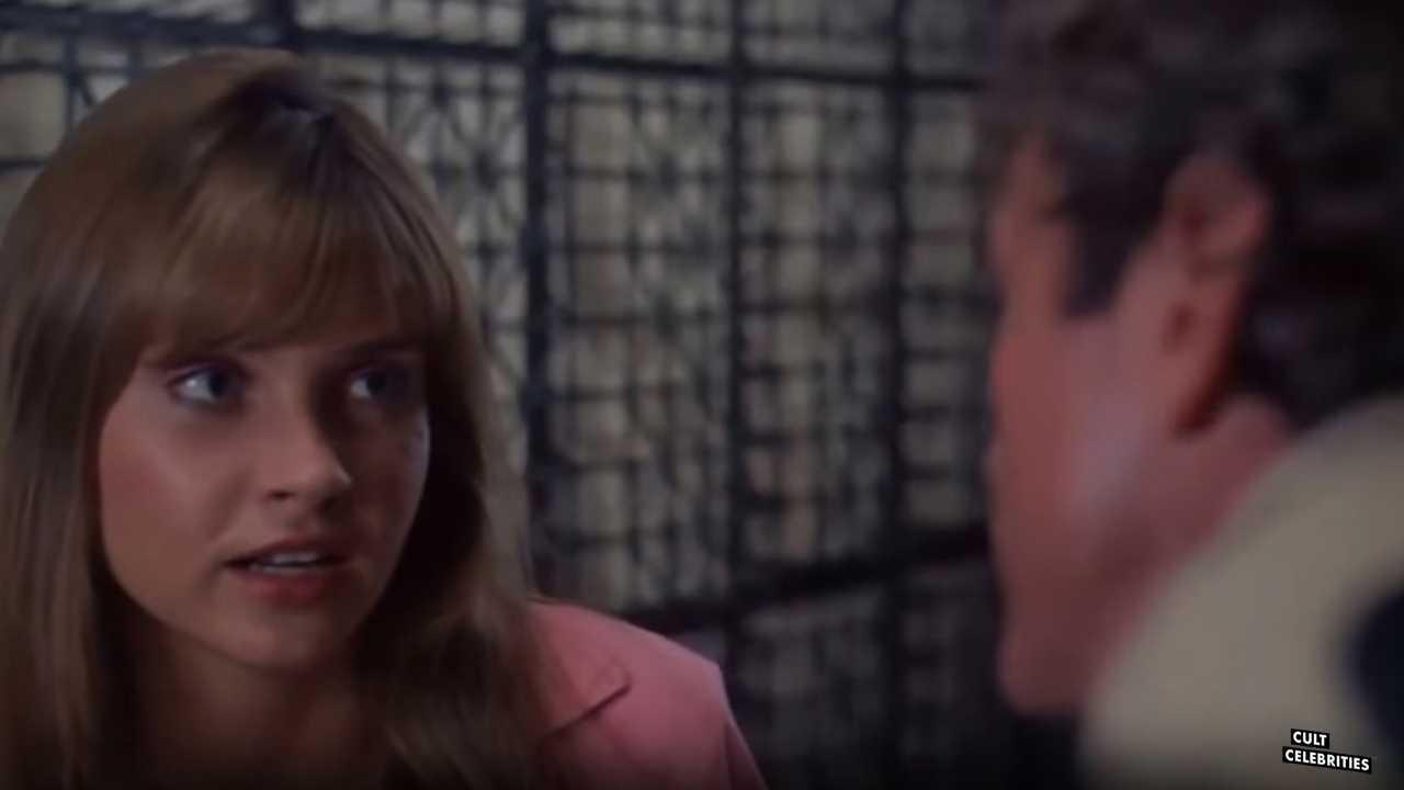 Dawn Dunlap as Tracy Baxter in Forbidden World (1982)