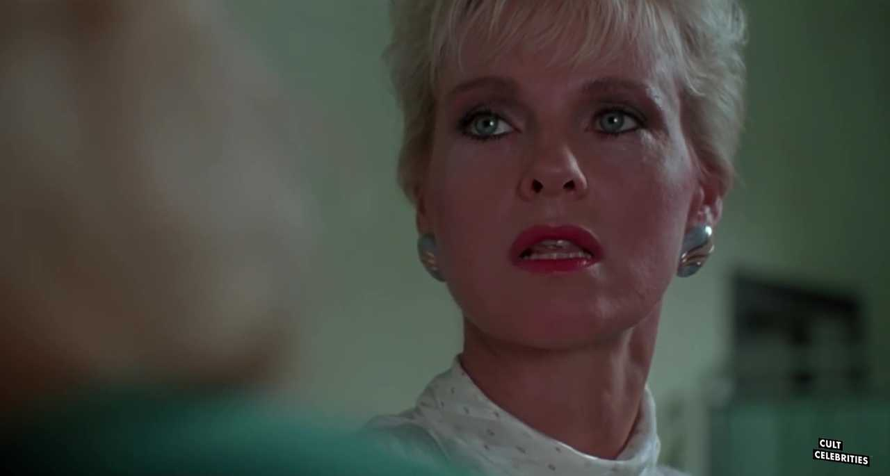 Angel Tompkins as Diane in The Naked Cage (1986)