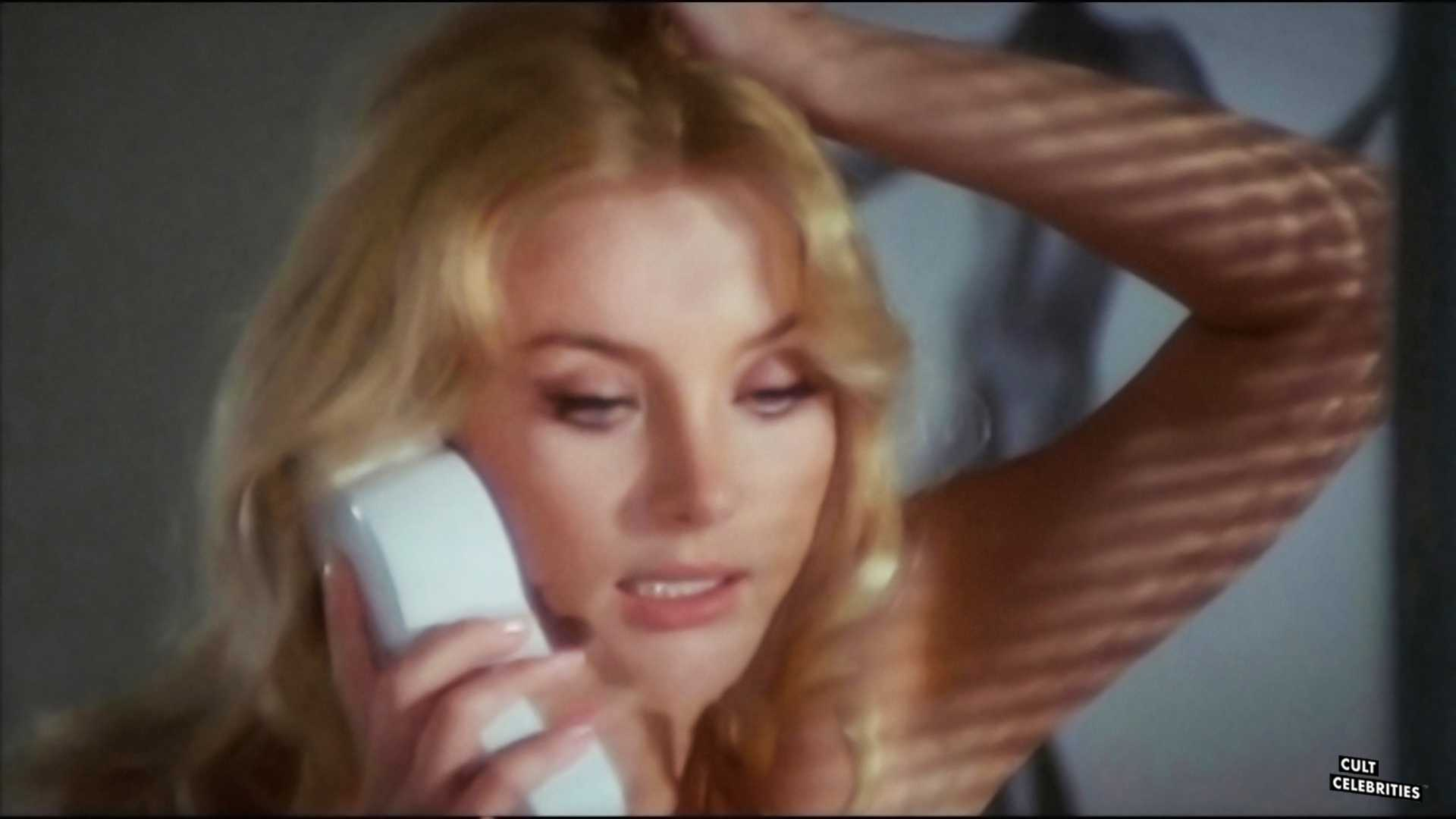 Barbara Bouchet in Black Belly of the Tarantula (1971)