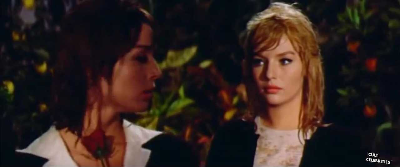 Annette Stroyberg and Elsa Martinelli in Blood and Roses (1960)