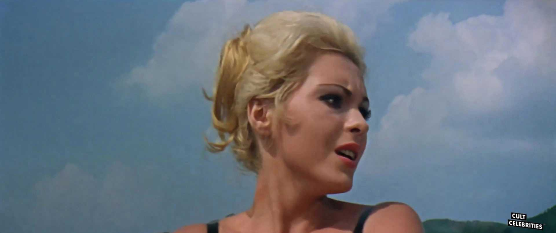 Maria Rohm in Five Golden Dragons (1967)