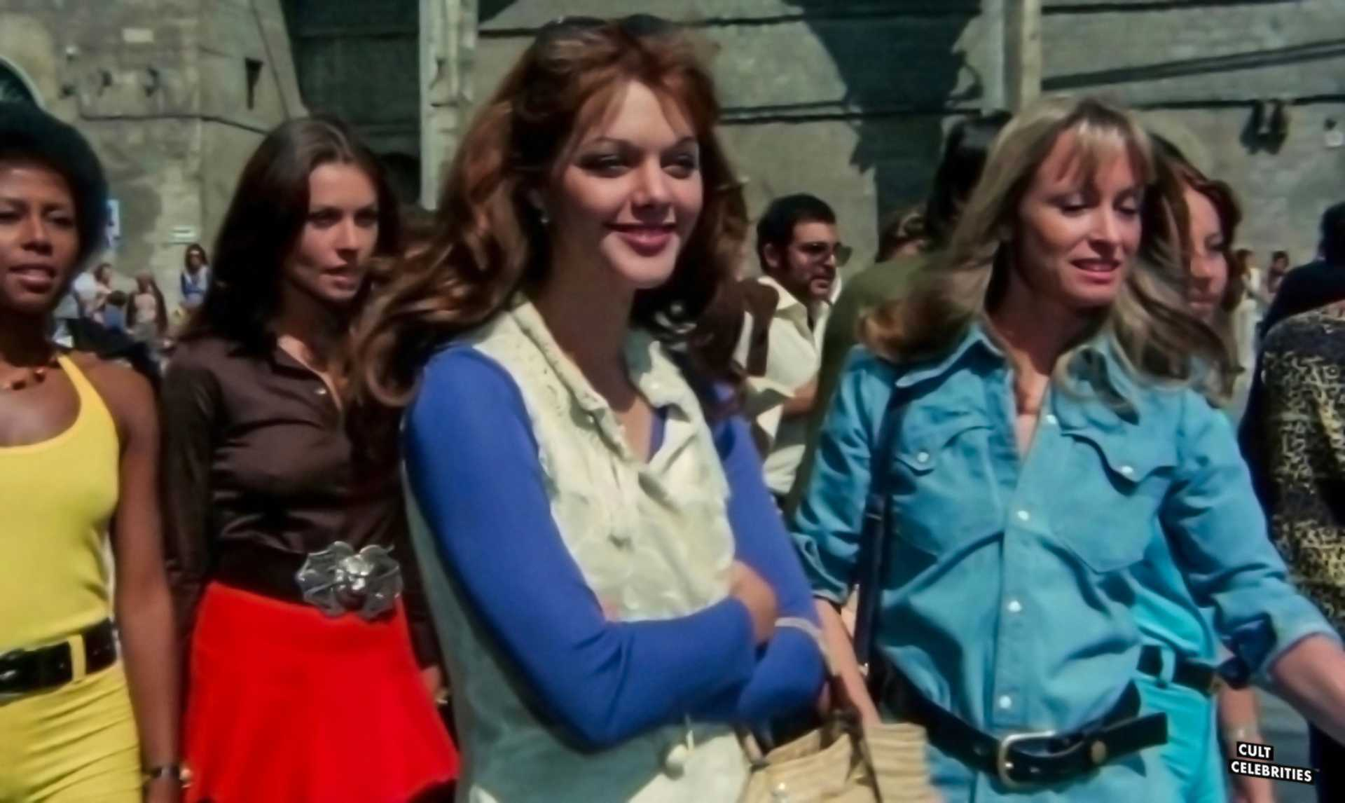 Angela Covello, Carla Brait, Suzy Kendall and Tina Aumont in Torso (1973)