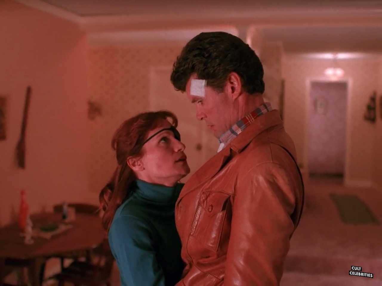 Everett McGill and Wendy Robie in Twin Peaks (1990)