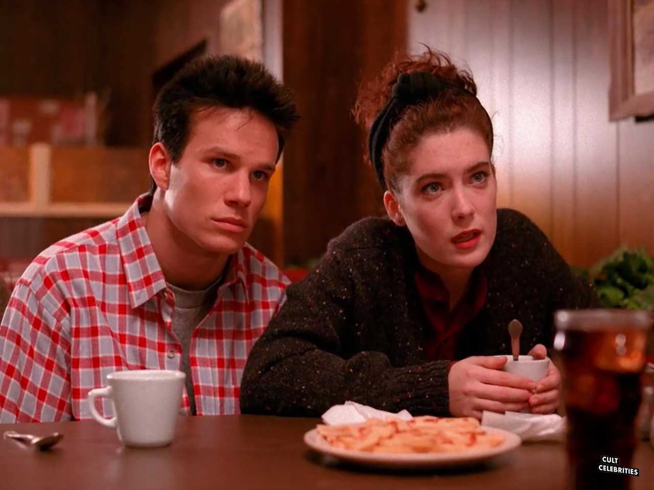 James Marshall and Laura Flynn Boyle in Twin Peaks (1990)