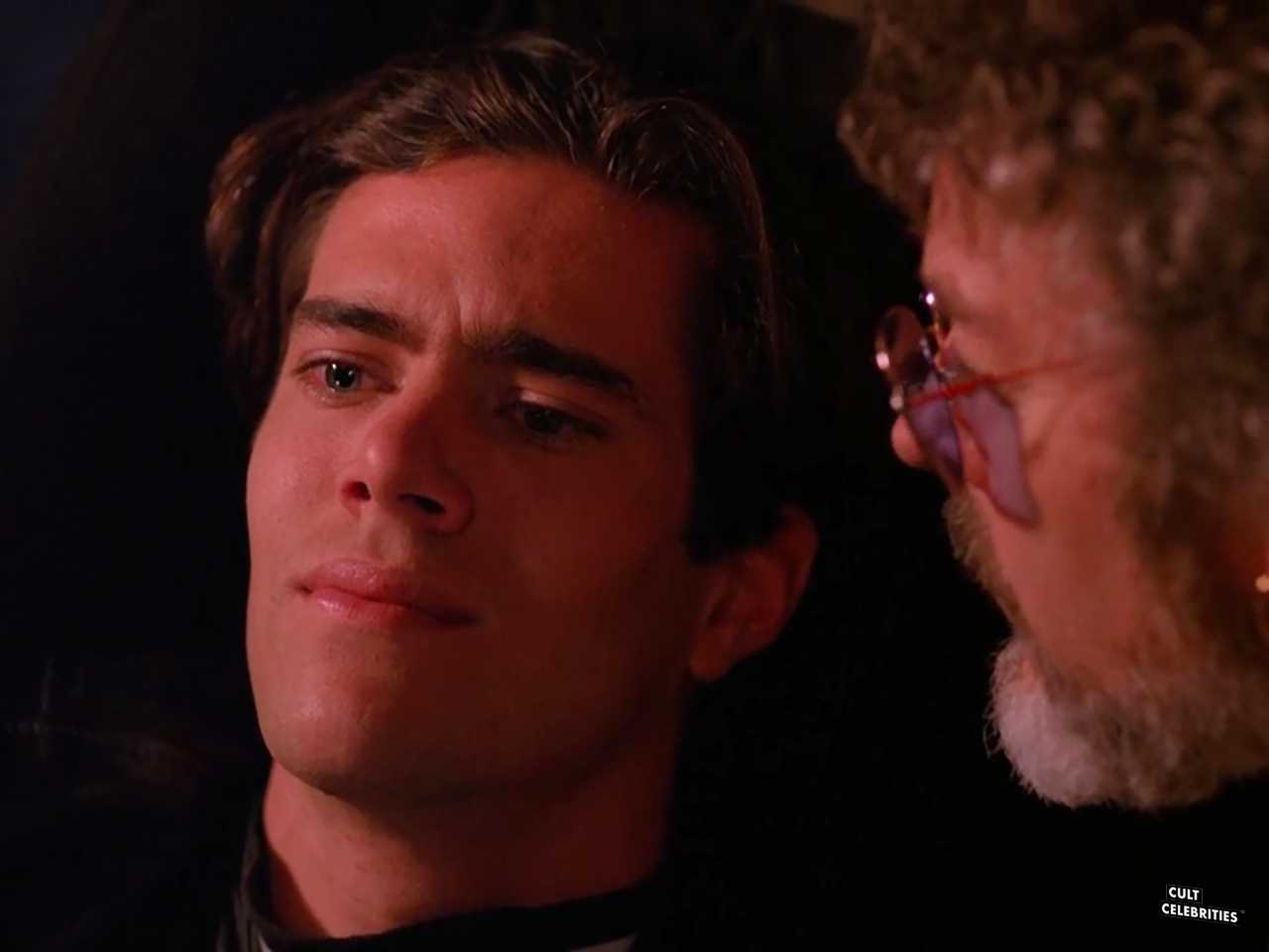 Dana Ashbrook and Russ Tamblyn in Twin Peaks (1990)