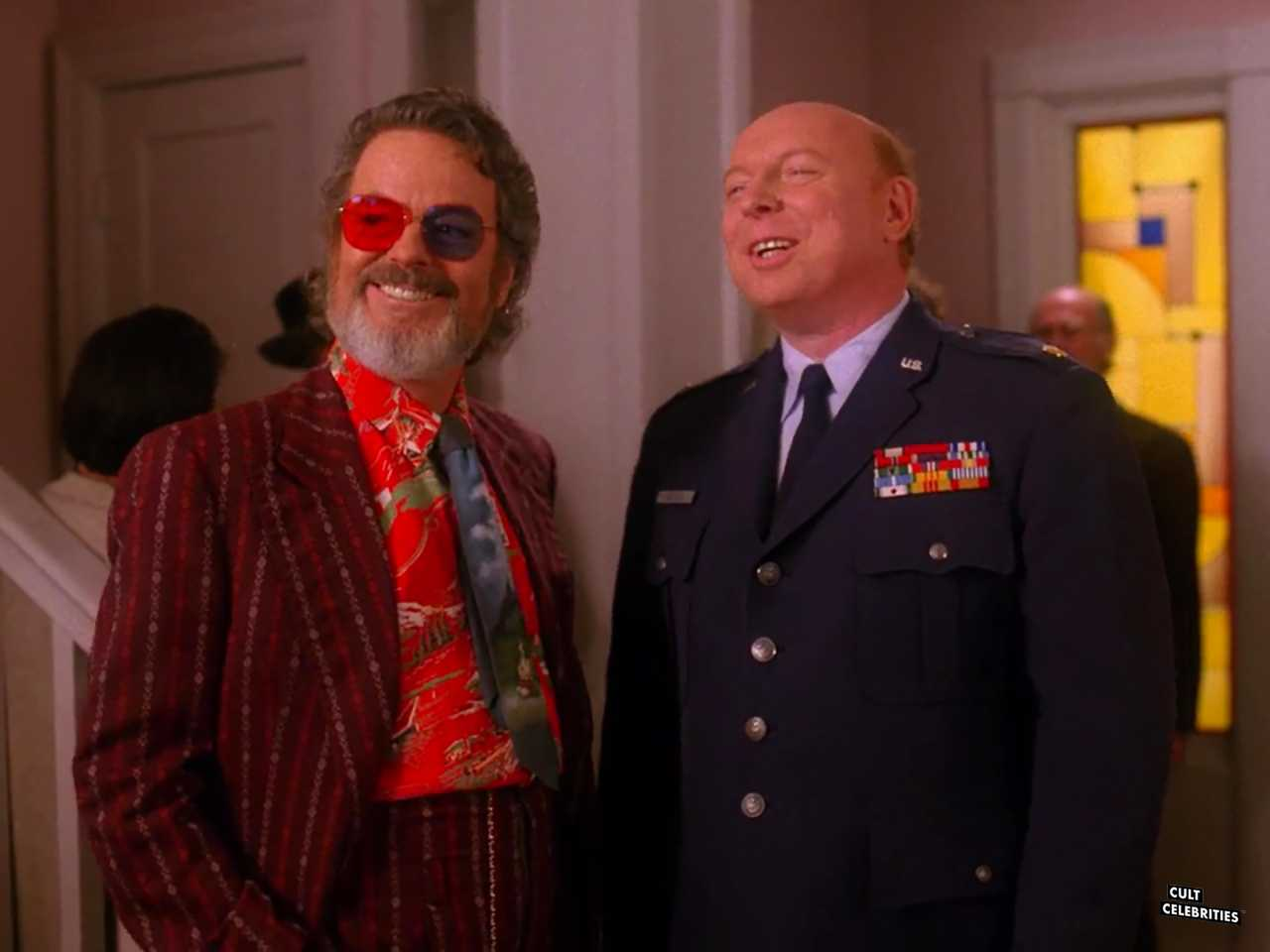 Russ Tamblyn and Don S. Davis in Twin Peaks (1990)