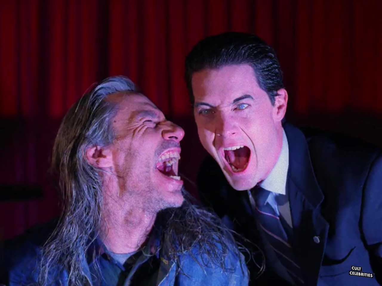 Frank Silva and Kyle MacLachlan in Twin Peaks (1990)
