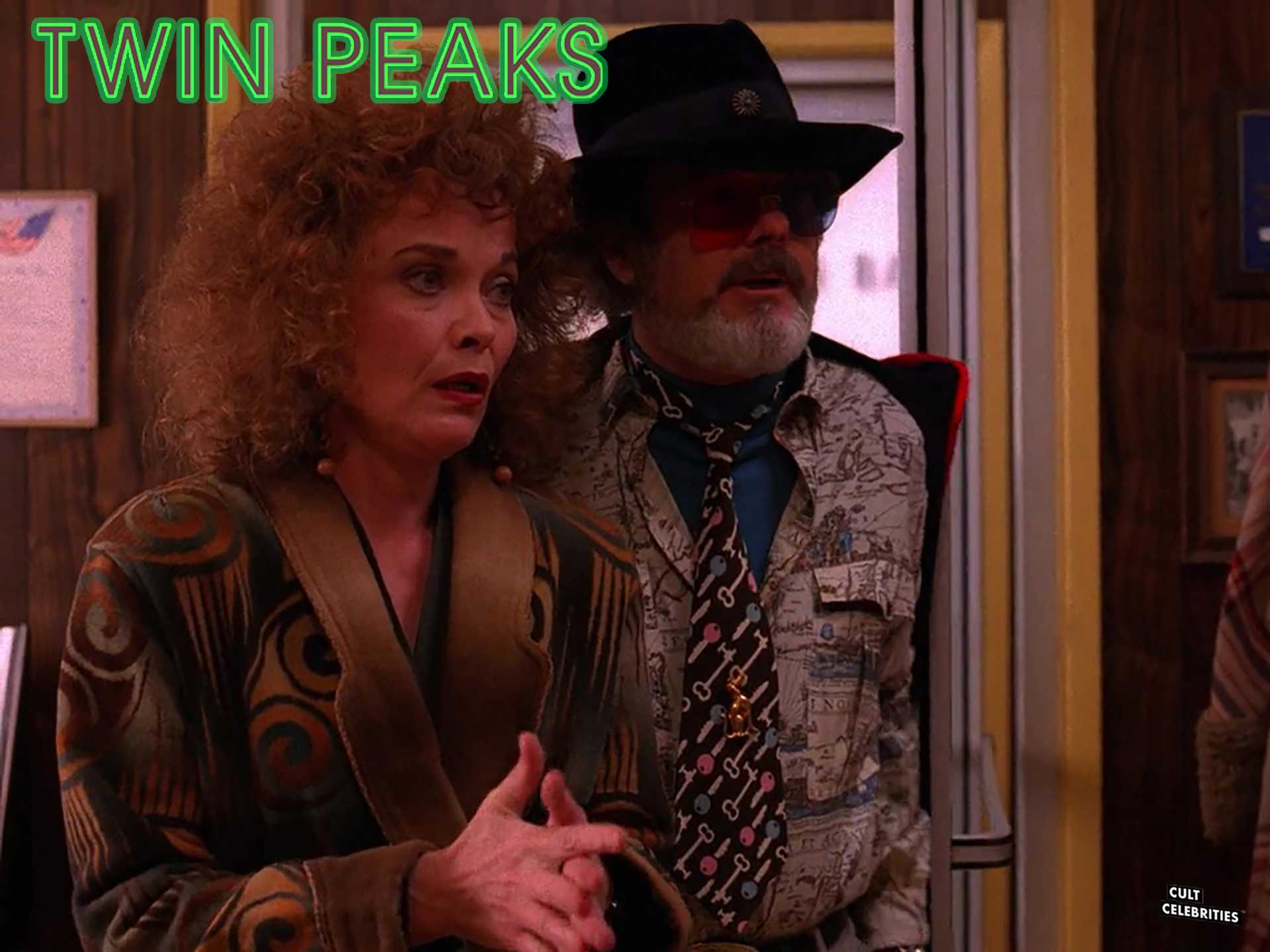 Grace Zabriskie and Russ Tamblyn in Twin Peaks (1990)