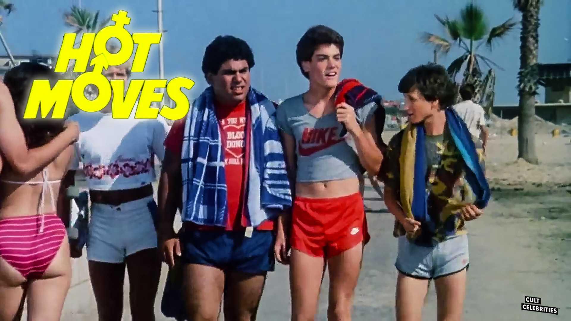 Jeff Fishman, Adam Silbar, Johnny Timko, and Michael Zorek in Hot Moves (1984)