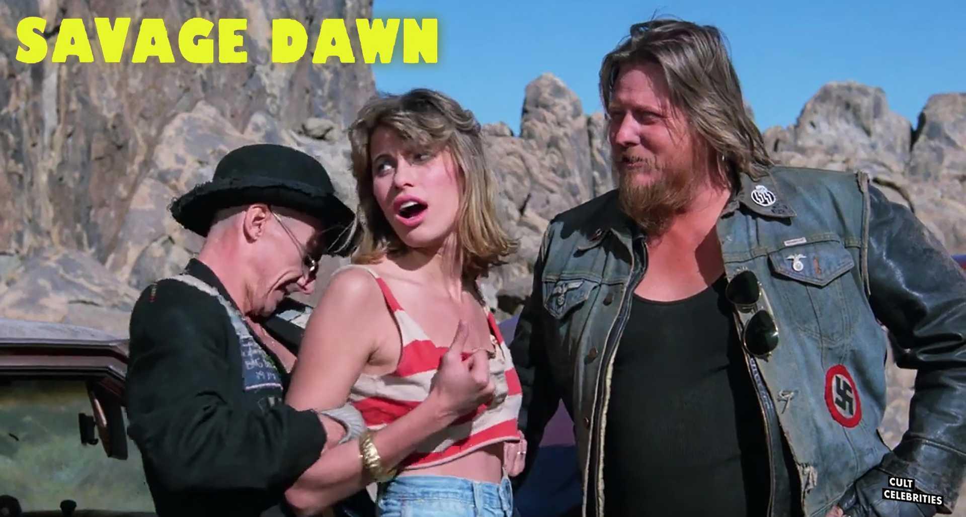 Elizabeth Kaitan in Savage Dawn (1985)