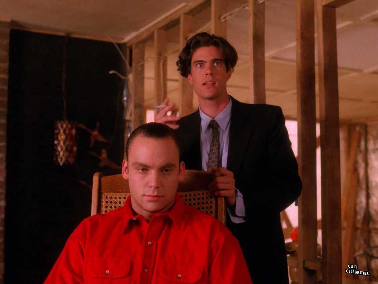 Eric DaRe and Dana Ashbrook in Twin Peaks (1990)