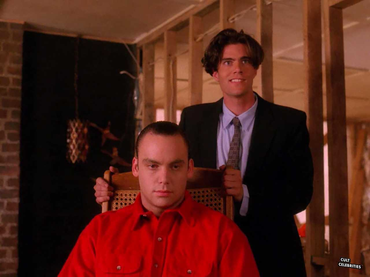 Eric DaRe and Dana Ashbrook in Twin Peaks (1990)