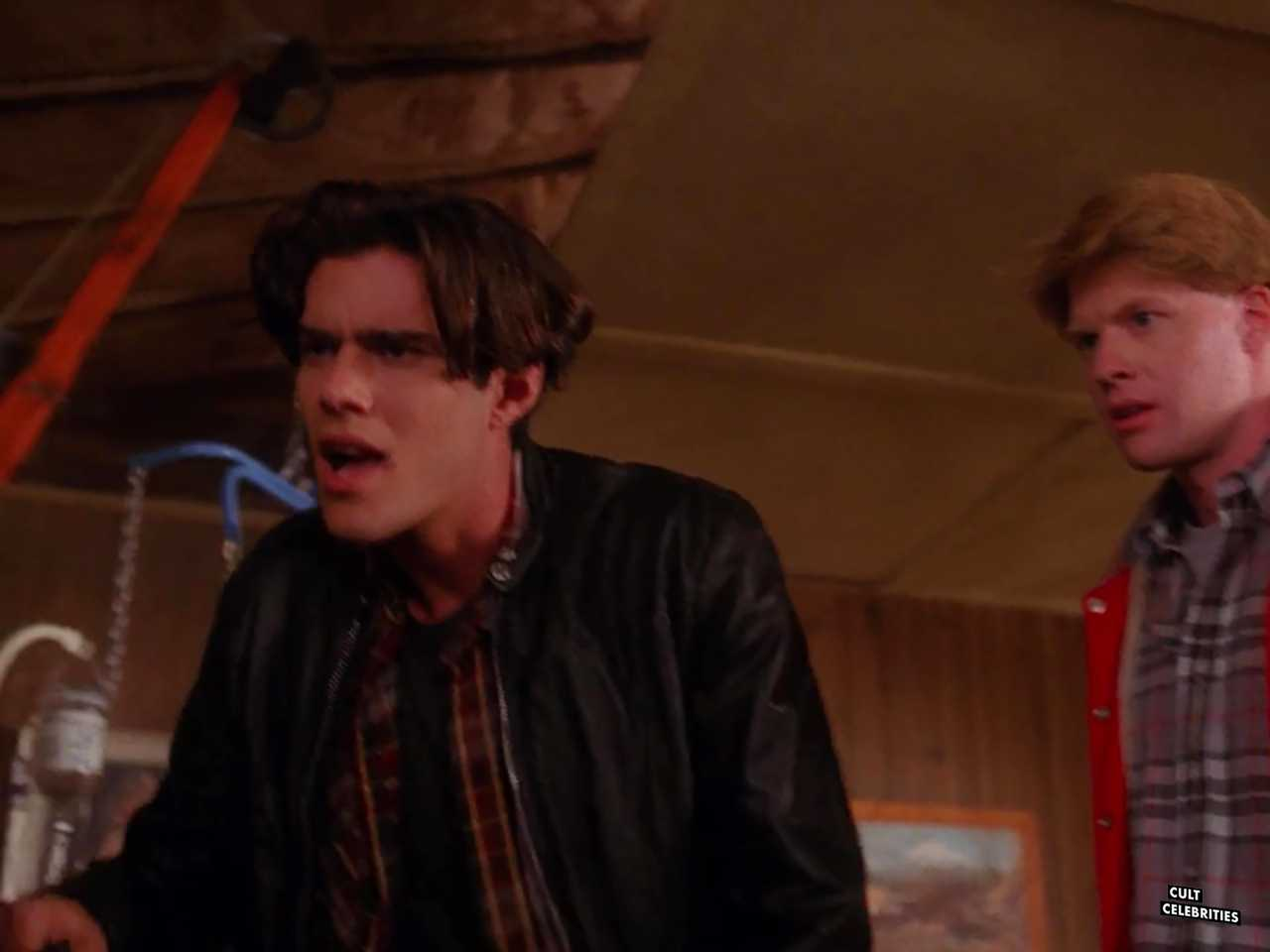 Gary Hershberger and Dana Ashbrook in Twin Peaks (1990)