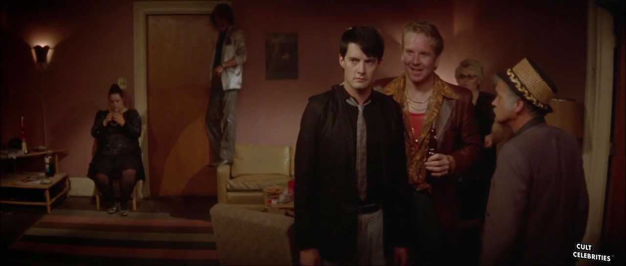 Kyle MacLachlan and Jack Nance in Blue Velvet (1986)