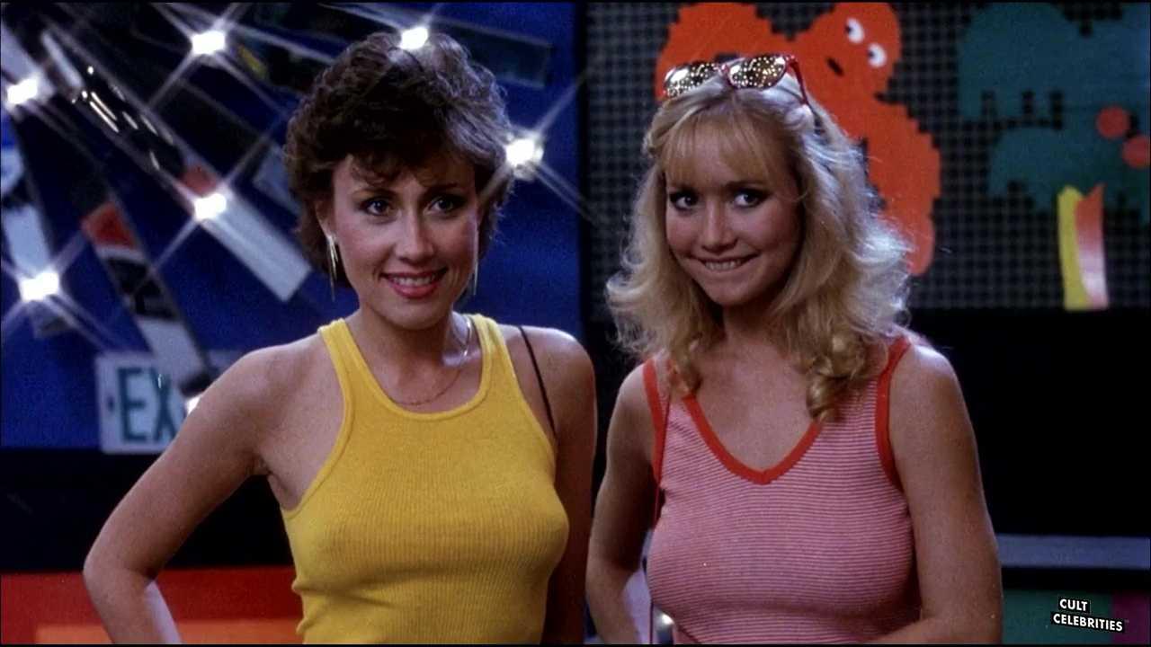Kym Malin and Kim G. Michel in Joysticks (1983)