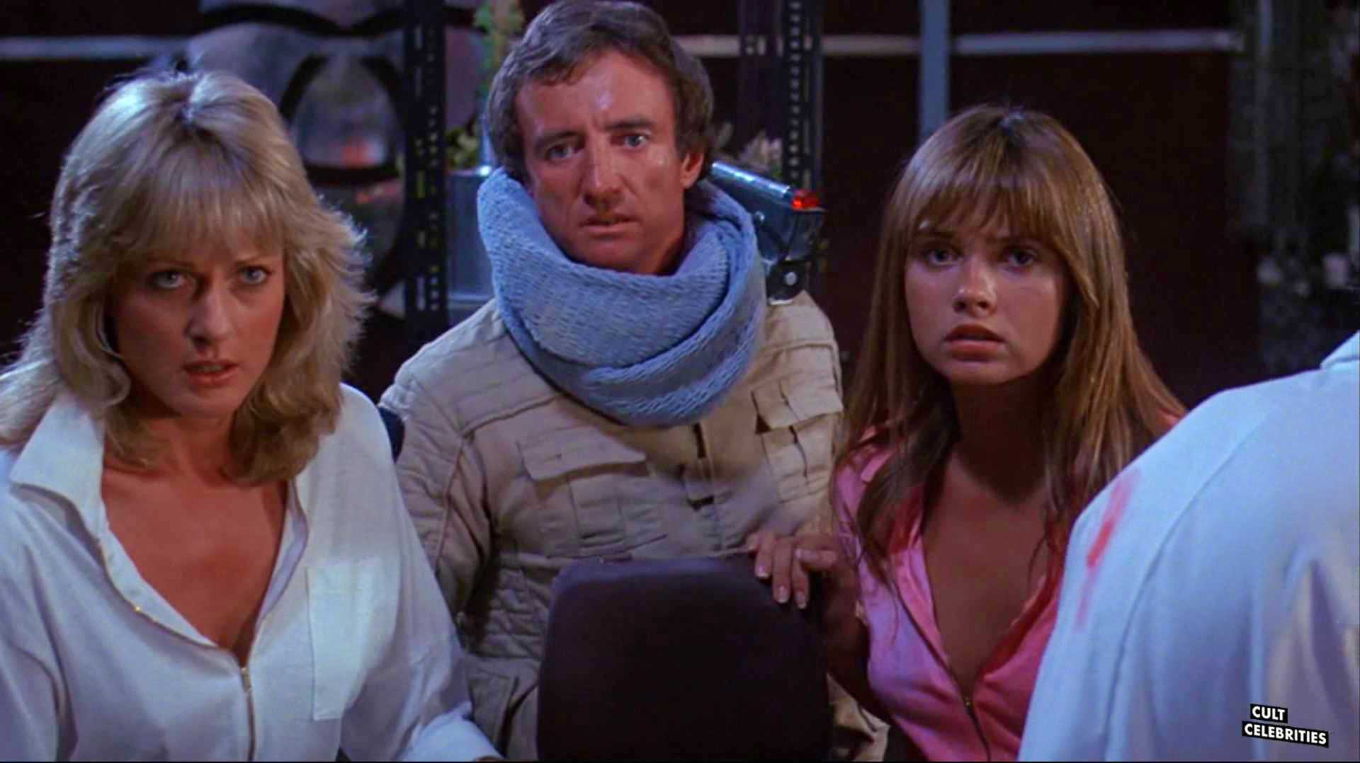 Dawn Dunlap, June Chadwick and Jesse Vint in Forbidden World (1982)