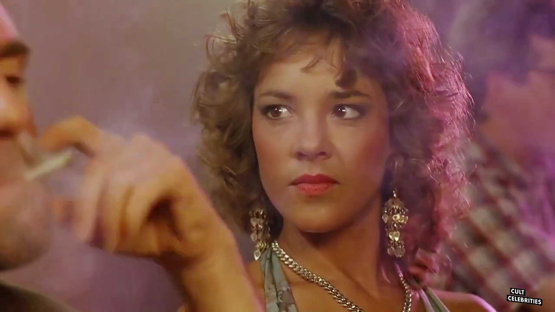 Michelle Bauer in Hollywood Chainsaw Hookers (1988)