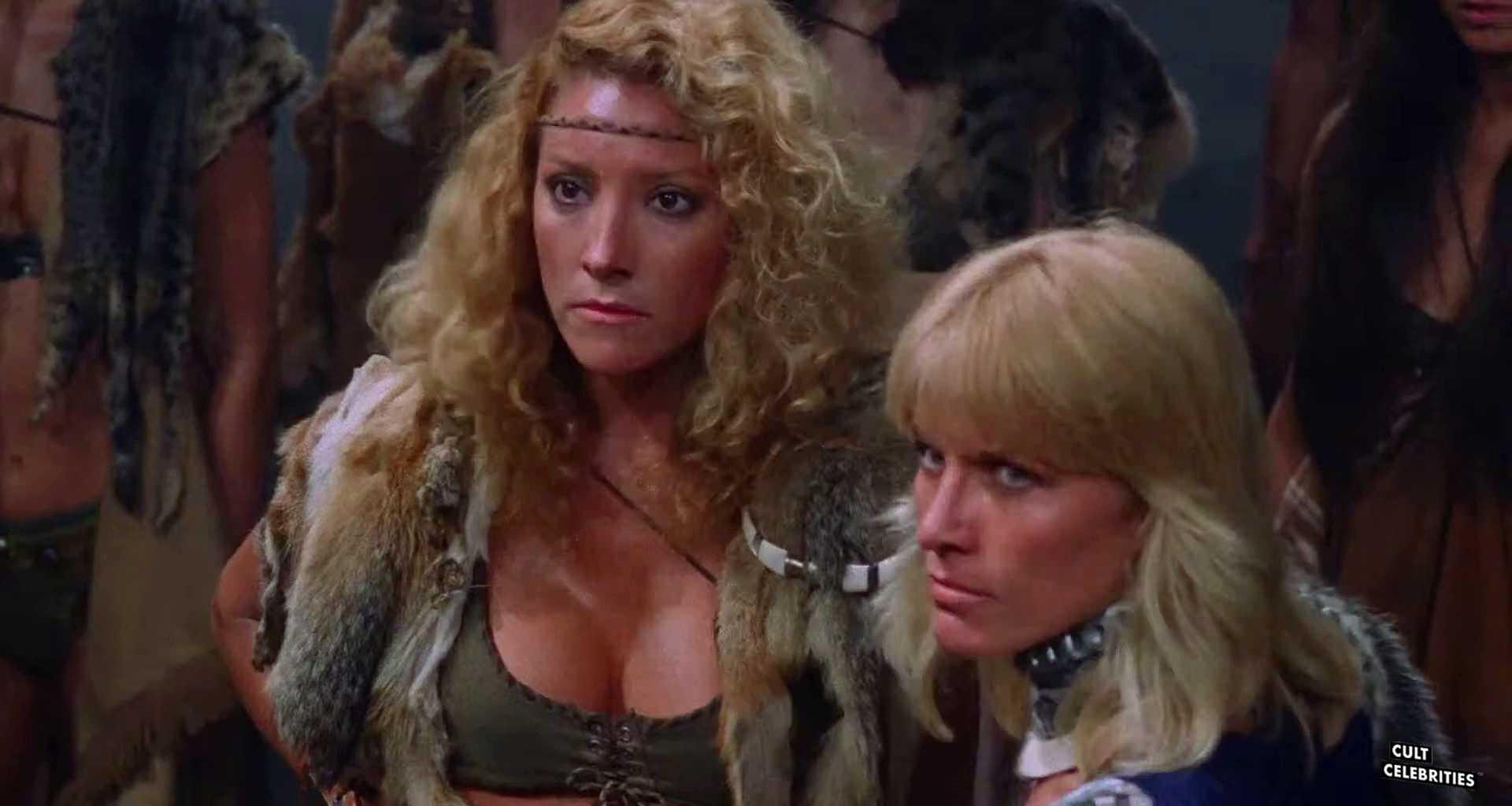 Mindi Miller and Danitza Kingsley in Amazons (1986)