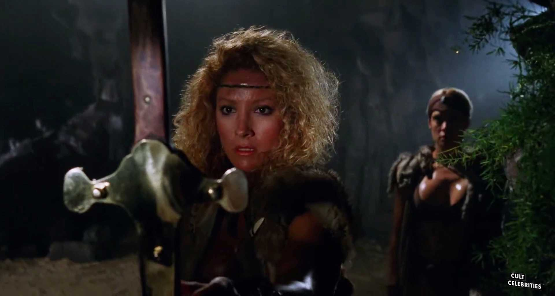 Penelope Reed and Mindi Miller in Amazons (1986)