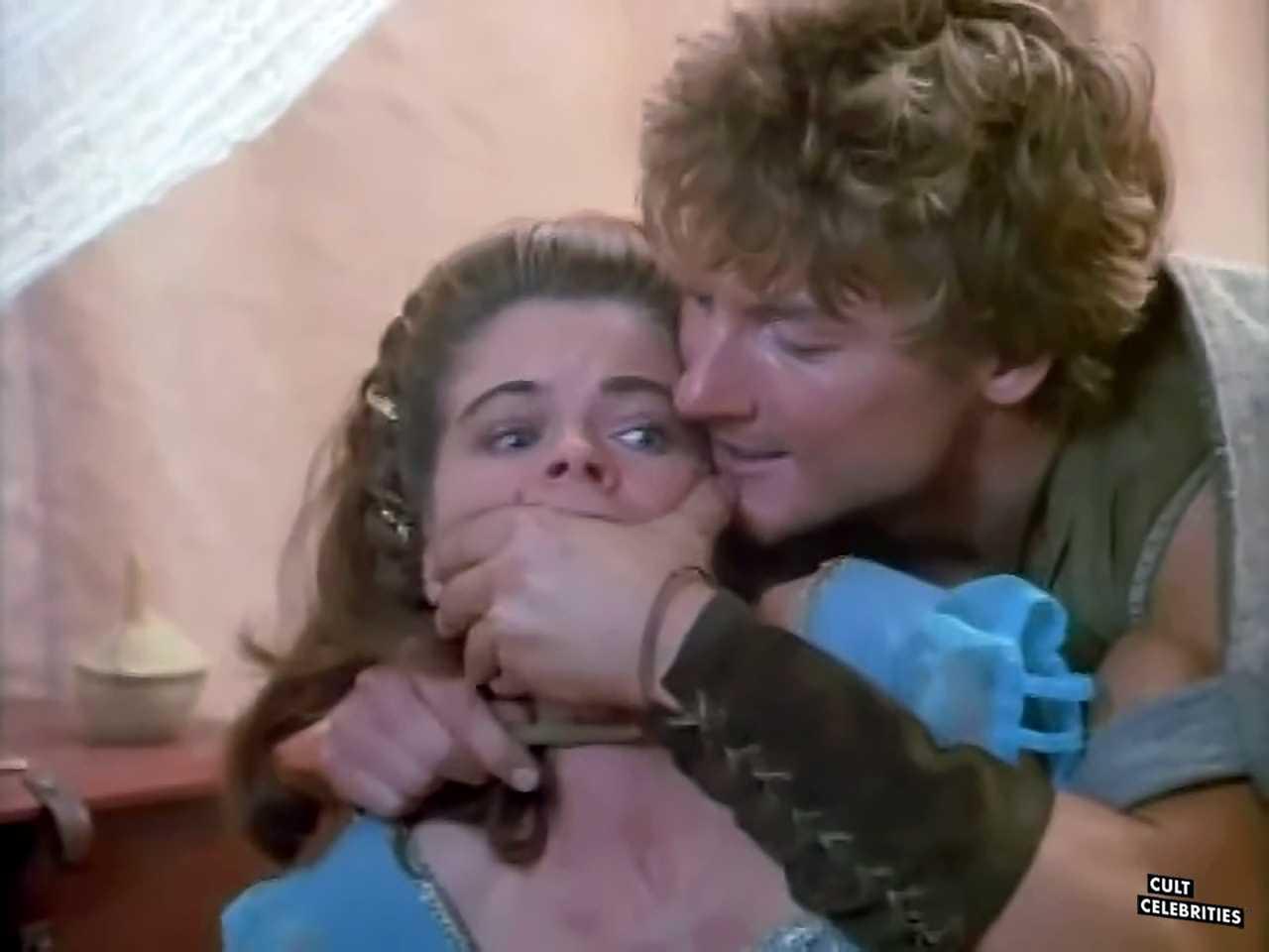 John Allen Nelson and Carla Herd in Deathstalker and the Warrior