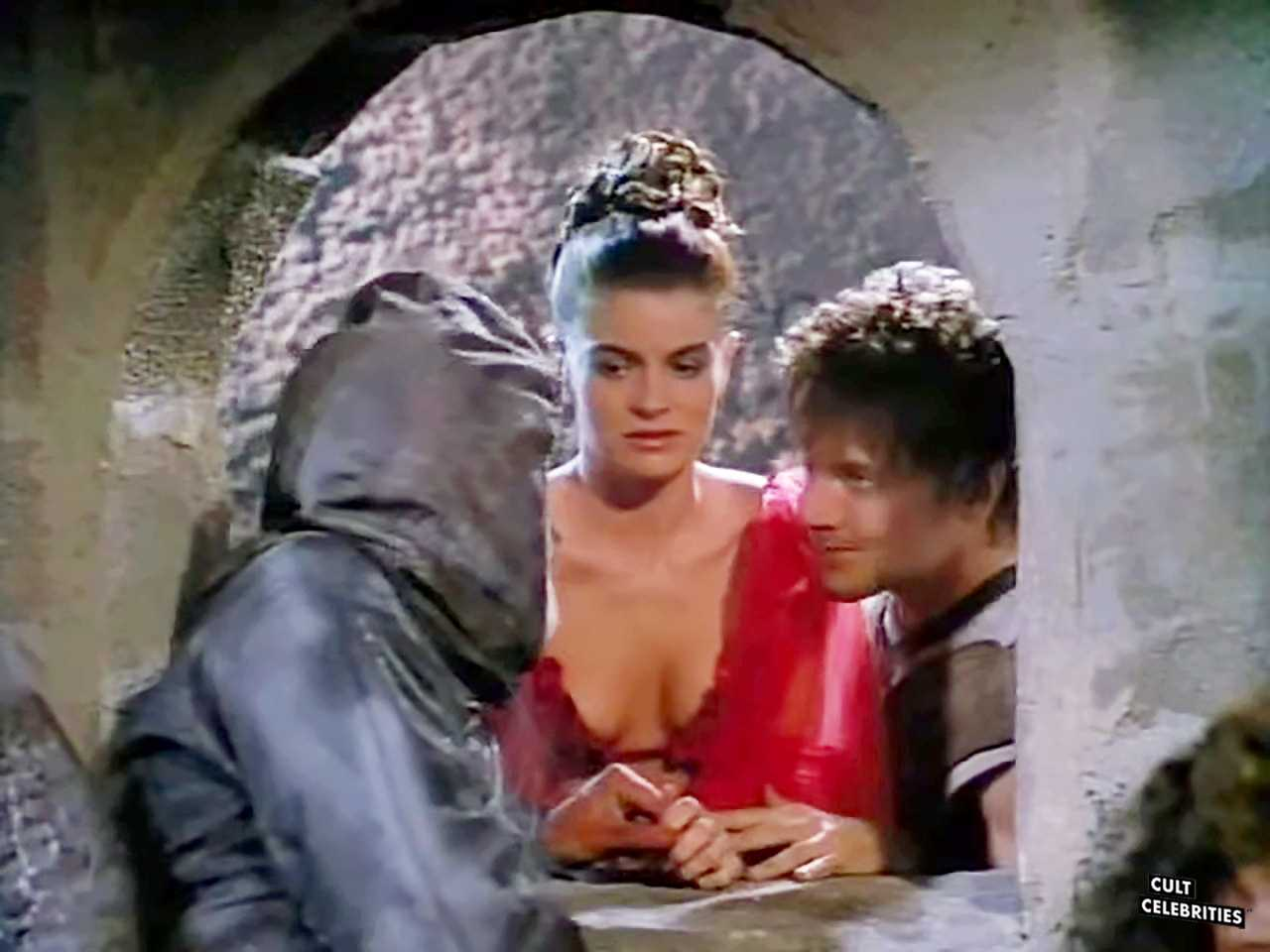 John Allen Nelson and Carla Herd in Deathstalker and the Warriors from Hell (1988)