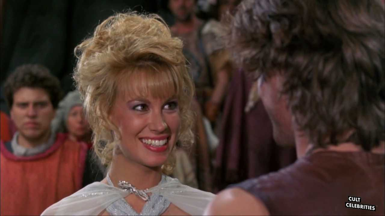 Monique Gabrielle in Deathstalker II: Dual of the Titans (1987)