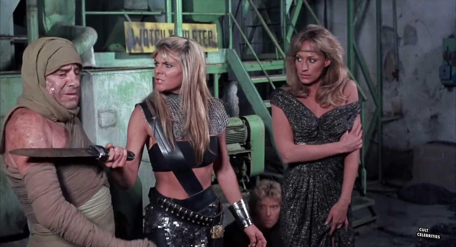 Sandahl Bergman and Quin Kessler in She (1984)