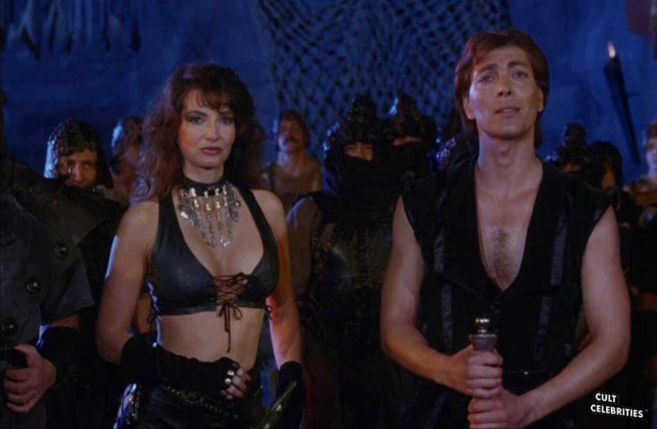 Toni Naples in Deathstalker II: Dual of the Titans (1987)