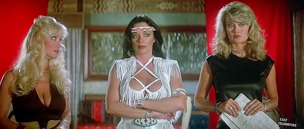 Angela Aames, Raven De La Croix and Melanie Vincz in The Lost Empire (1984)
