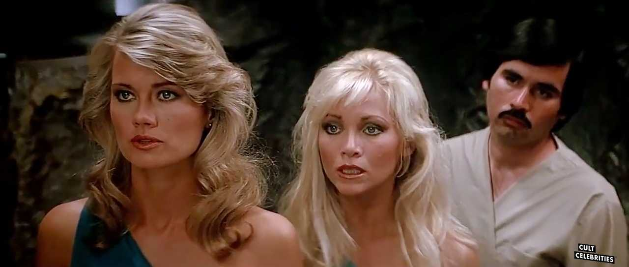 Angela Aames and Melanie Vincz in The Lost Empire (1984)